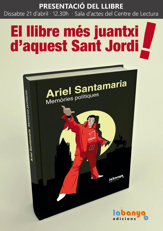 Nou cartell de la presentació del nou llibre