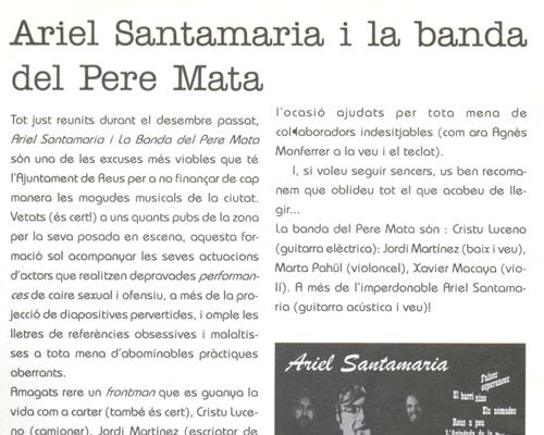 Una de les excuses de l'Ajuntament de Reus per a no finançar mogudes musicals de la ciutat
