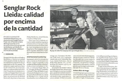 Senglar Rock Lleida: calidad por encima de la cantidad