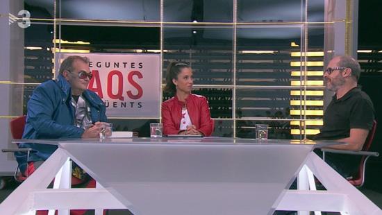 Entrevista a Ariel Santamaria al FAQS de TV3