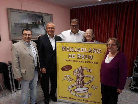 """Presentació del llibre """"Menjablanc de Reus, 100 anys d'història"""""""