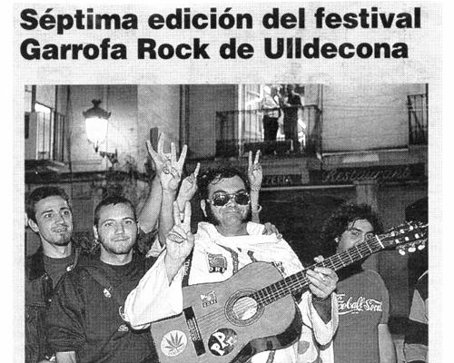 Recull de premsa. 9 de juliol de 2003. Diari de Tarragona.