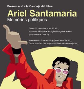 Presentació del llibre de memòries polítiques a La Canonja